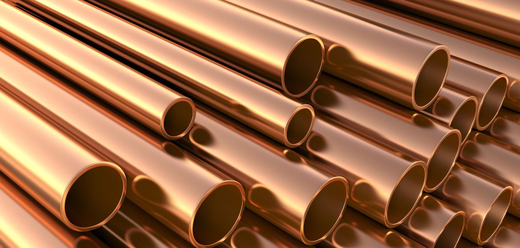 tubería de cobre