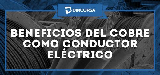 Cobre conductor electrico